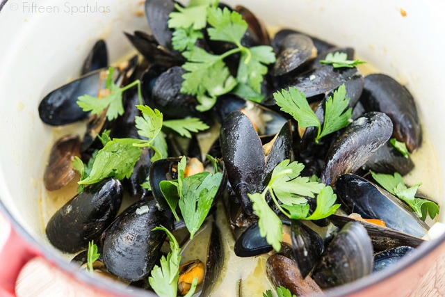 Coconut Green Curry Mussels Recipes — Dishmaps