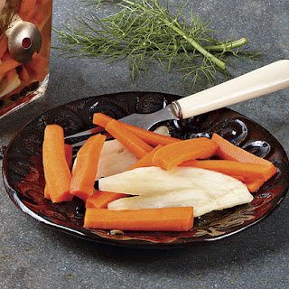 Sweet-and-Sour Pickled Carrots and Fennel