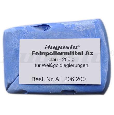 POLERPASTA AZ-BLÅ 200 gr Högglans vita metaller