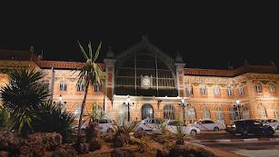 Antigua estación de tren de Almería.
