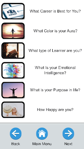 Who are You? QUIZ - Personality and General quiz App Report