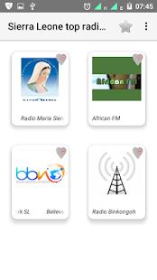 Sierra Leone FM radio - náhled