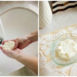 Milk and Honey Soap.