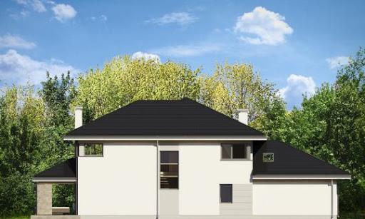 Dom z widokiem 2 - Elewacja tylna