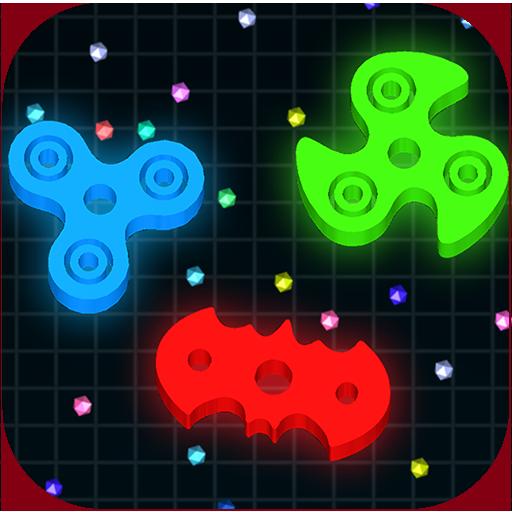 Spinning.io 3D : Fidget Spinner .io Tops Wars