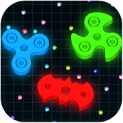 Spinning.io 3D : Fidget Spinner Top Wars