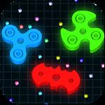 Spinning.io 3D : Fidget Spinner .io Tops Wars Icon