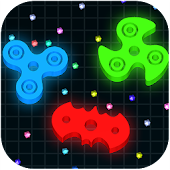 Spinning.io 3D : Fidget Spinner Tops Wars