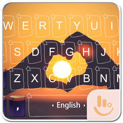 Forever Love Keyboard Theme