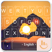 Forever Love Keyboard Theme  Icon