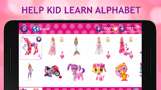 Puzzle ABC: Princess - náhled