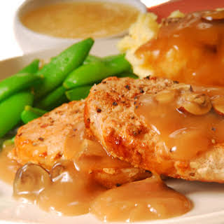 Once You See How These Smothered Pork Chops Are Made You'll Forget All Of Those Other Recipes You Tried!.