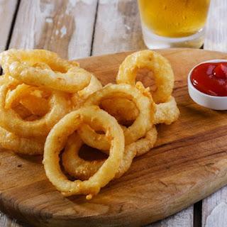 A & W Onion Rings.