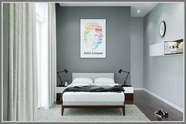warna cat kamar tidur abu abu muda