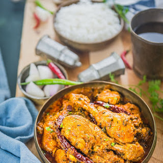 Dhaba Style Chicken Curry Recipe - Indian Chicken Recipes.