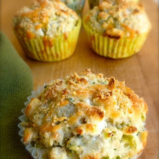 Skinny Broccoli Cheese Muffins.