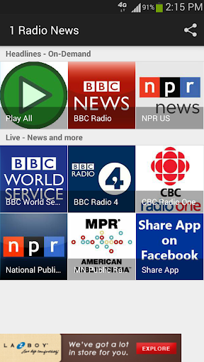 1 Radio News - World News