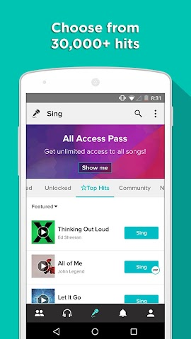 android Sing! Karaoké by Smule Screenshot 7