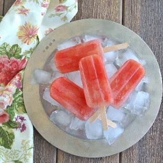 Citrus Watermelon Popsicles.