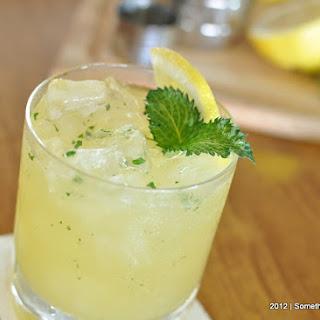 Fresh Mint Lemonade..
