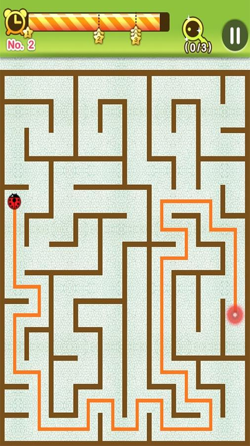 Screenshots of Maze King for iPhone