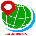 motels and hotels cheap deals icon