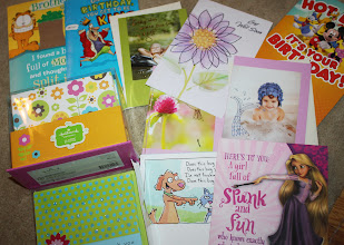Photo: Here is all of my loot which even includes a box of 50 notecards all made by Hallmark.