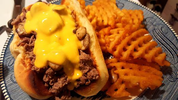 Philly Cheese Steak ~ My Way