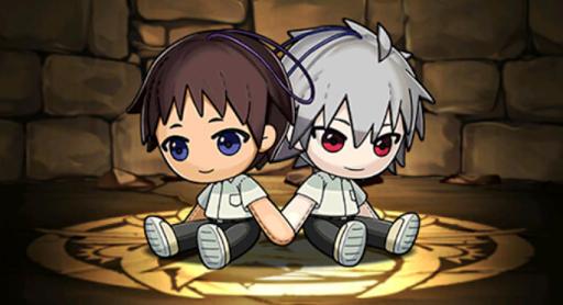 シンジ&カヲルのマスコット