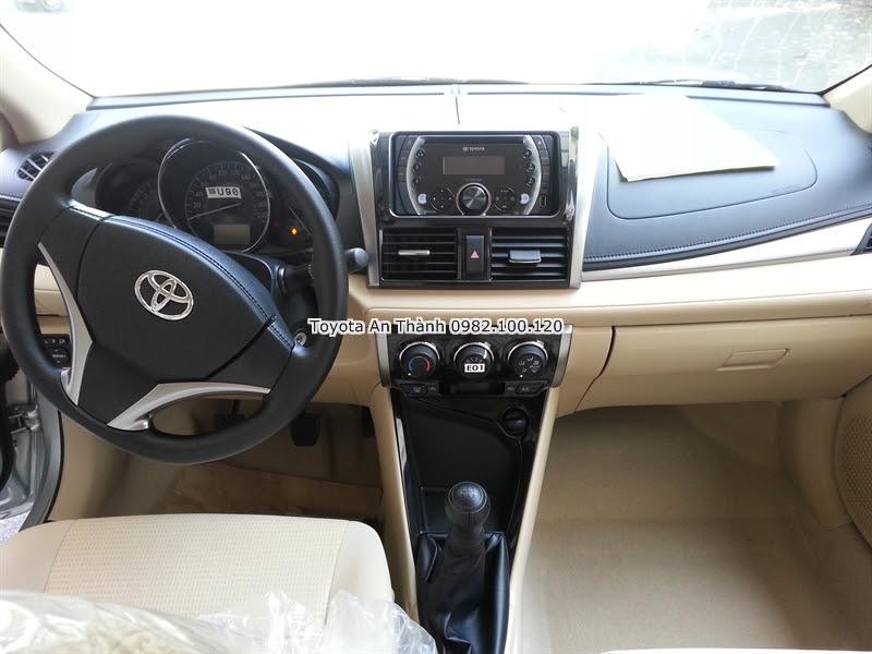Khuyến Mãi Giá Mua Xe Toyota Vios 2016 1.5E Số Sàn Trả Góp 4