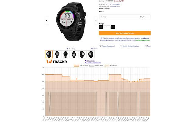 WTrackr - #1 Wiggle Preis Tracker