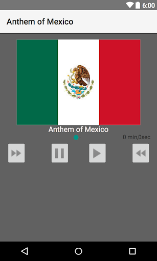 玩個人化App|Anthem of Mexico免費|APP試玩
