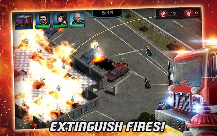Rescue: Heróis em Ação - Screenshot