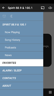 Spirit 88.9 and 100.1- screenshot thumbnail