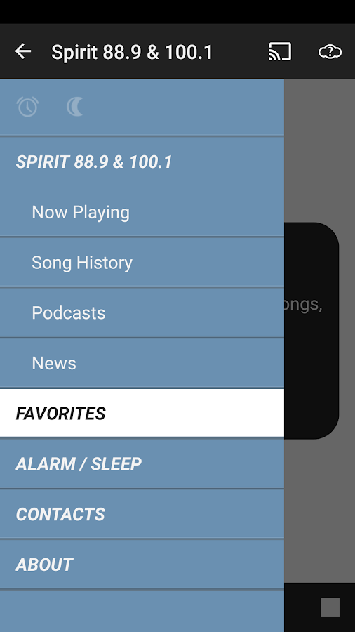Spirit 88.9 and 100.1- screenshot