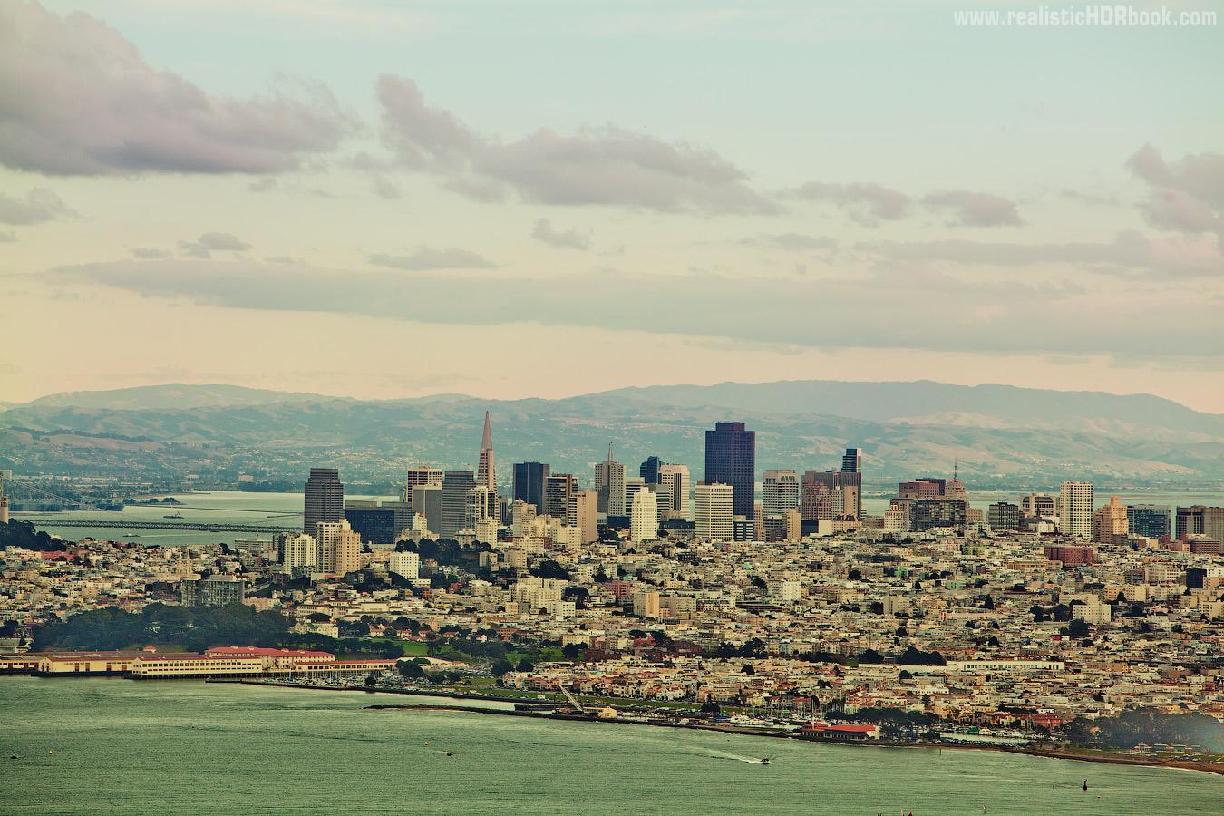 Photo: The beautiful city by Alex Koloskov. www.RealisticHDRbook.com