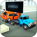Car Crash Timed Accident Stunts:Beam Drive Jump icon