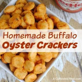 Homemade Buffalo Oyster Crackers.