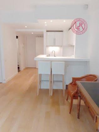 Location studio meublé 32,11 m2