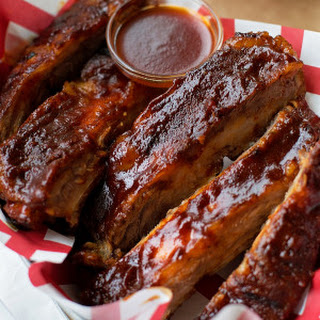 Easy Oven Baked BBQ Ribs.