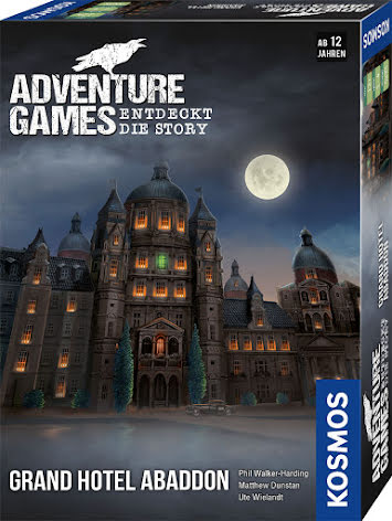 Adventure Games - The Grand Hotel Abaddon (EN)