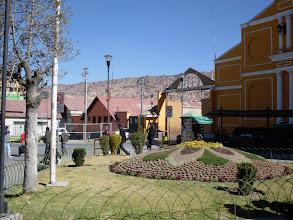 Photo: La Paz, Vorplatz am Busbahnhof