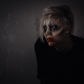When there's no more room in Hell, the dead will walk the earth. by Kjell Kasin - People Portraits of Women ( sweden, makeup, woman, nikon, horror, arvika )