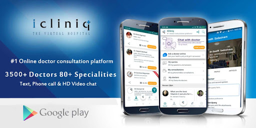 iCliniq screenshot for Android