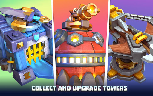 3D Wild TD: Tower Defense in Fantasy Sky Kingdom screenshots 7
