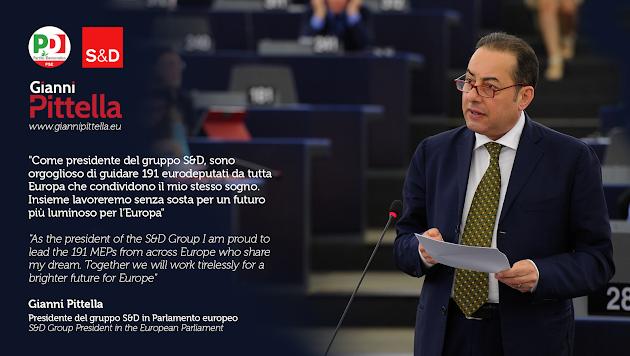 Gianni PITTELLA Eurodeputato del Parlamento Europeo