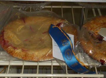 Blue Ribbon Raspberry Pie Recipe