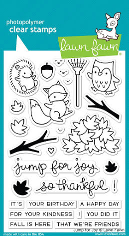Lawn Fawn Clear Stamps 4X6 - Jump For Joy