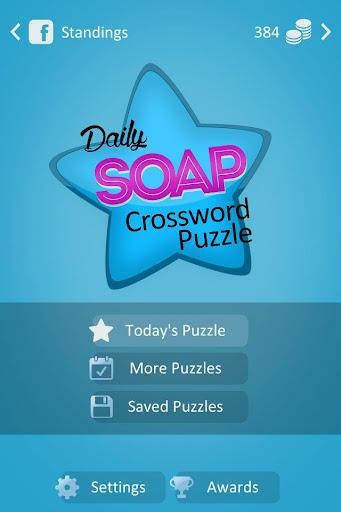 Soap Crossword
