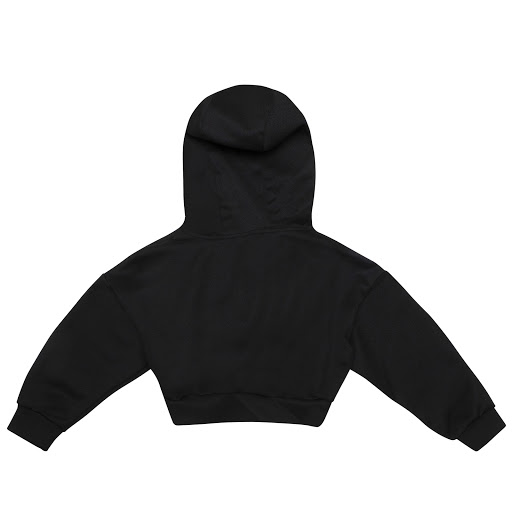 Thumbnail images of Balmain Cropped Hooded Sweatshirt